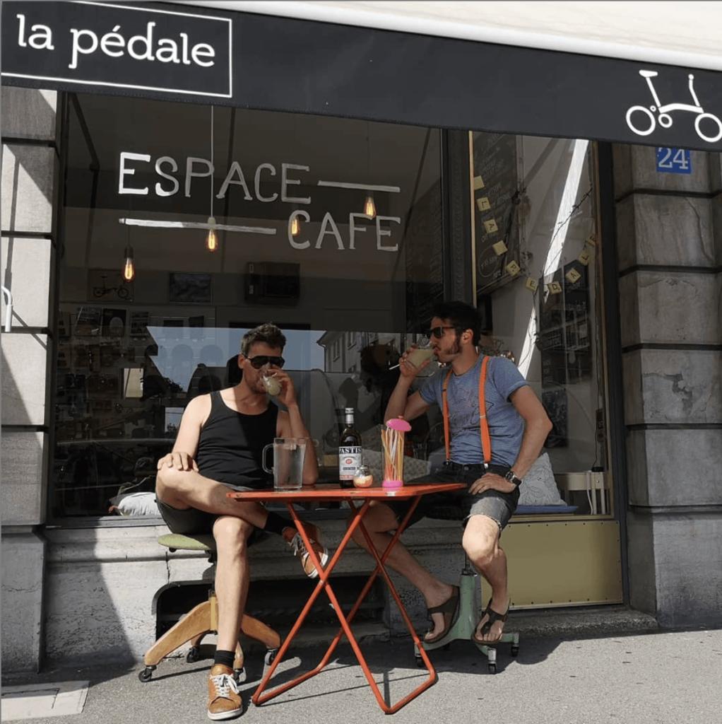 Brompton Lausanne, la Pédale