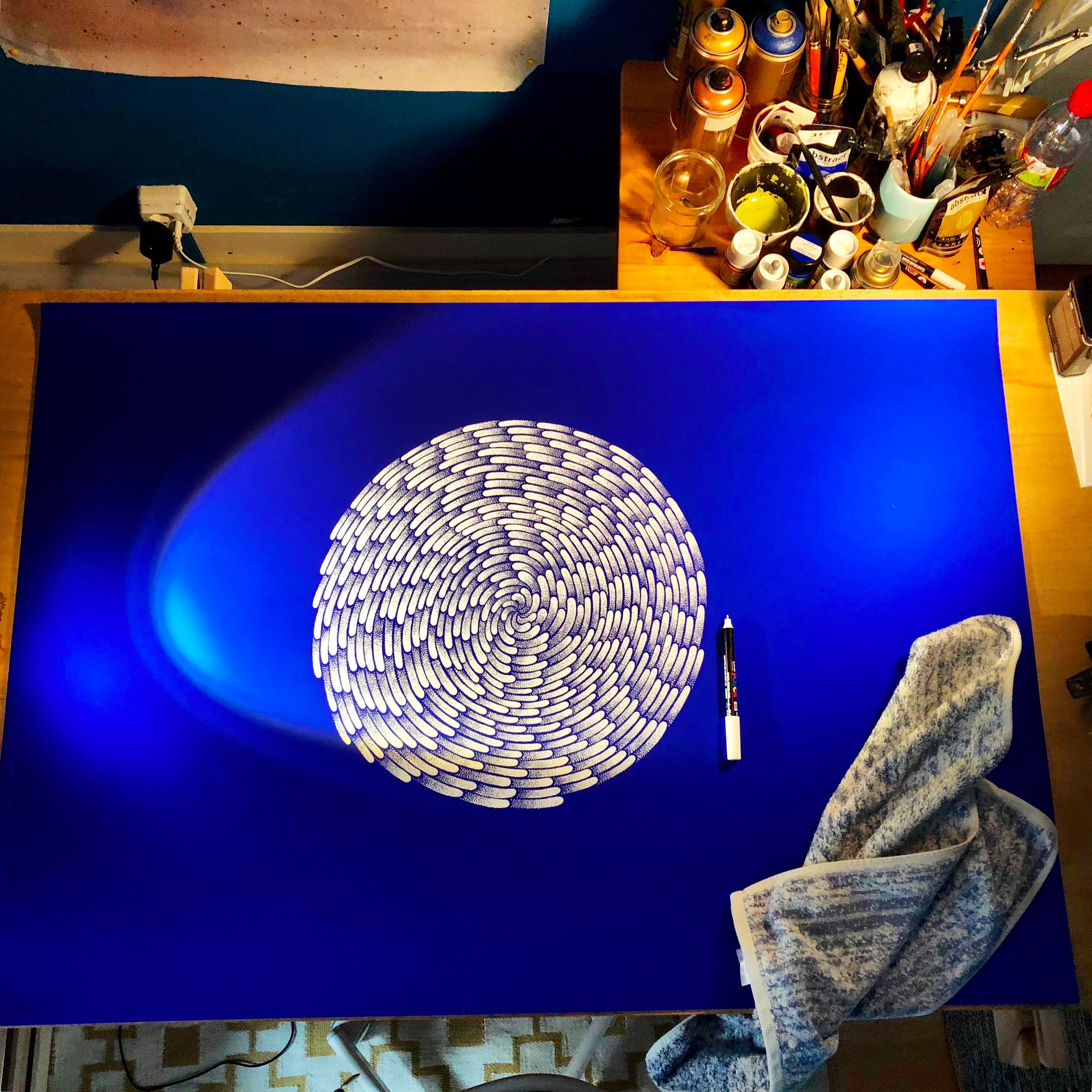 cosmic-blue-dot-drawing-random-tales-cosmic-blue-planet-paper-arjowiggings-atelier-eaux-vives-compressor-compressor