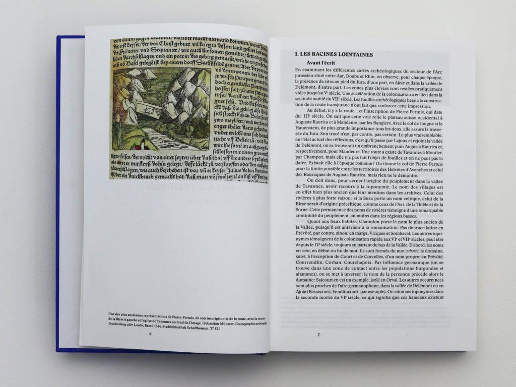 Premier chapitre du livre Bévilard dans l'Histoire sur les racines lointaines. Ecrit par Pierre-Yves Moeschler, historien spécialisé dans l'histoire médiévale.